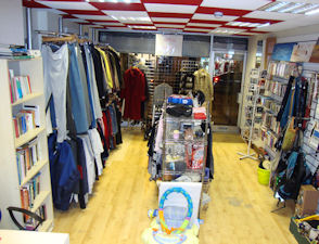shine a light charity shop